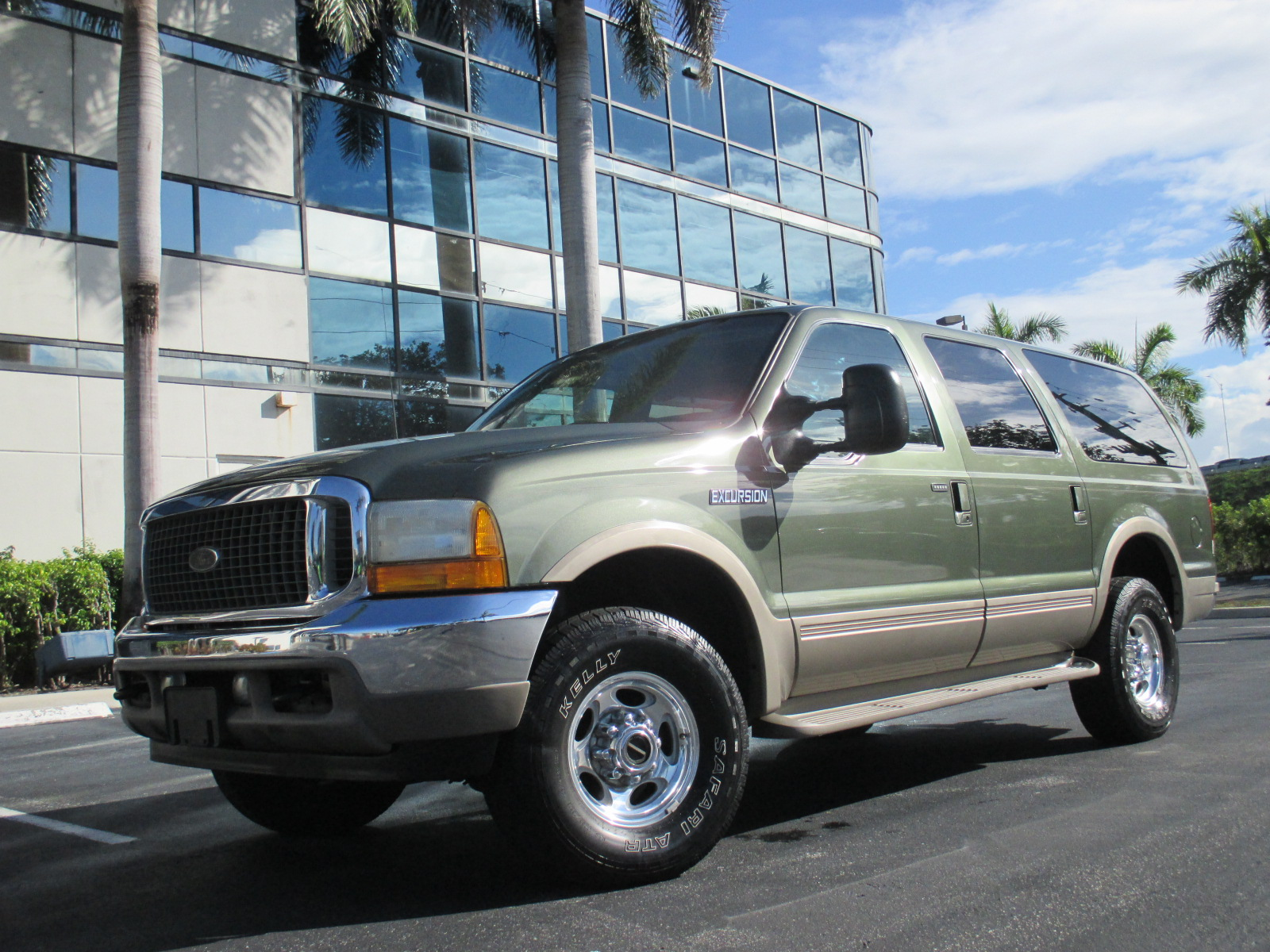 2001 FORD EXCURSION 4X4