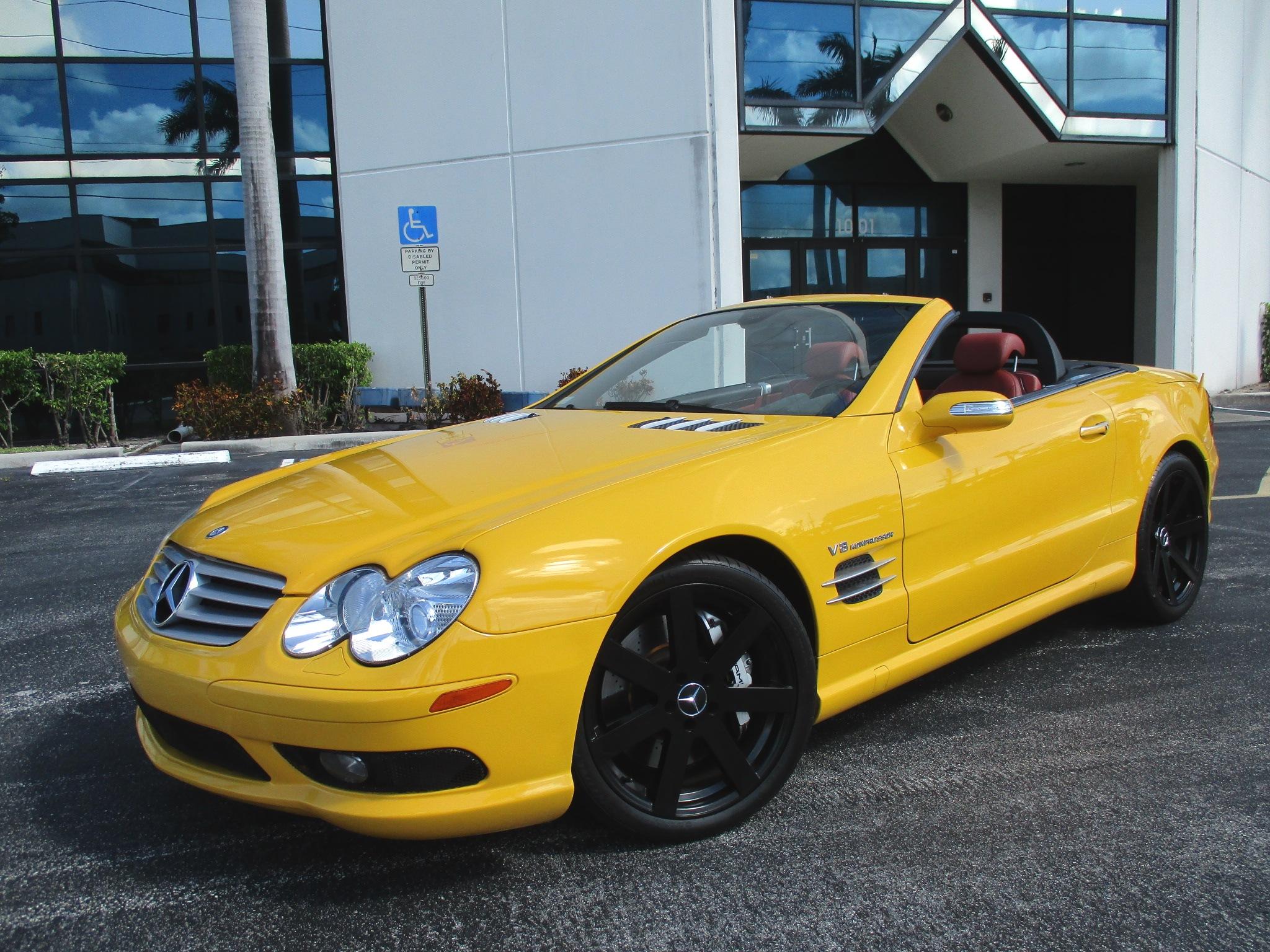 2005 M BENZ SL55 AMG