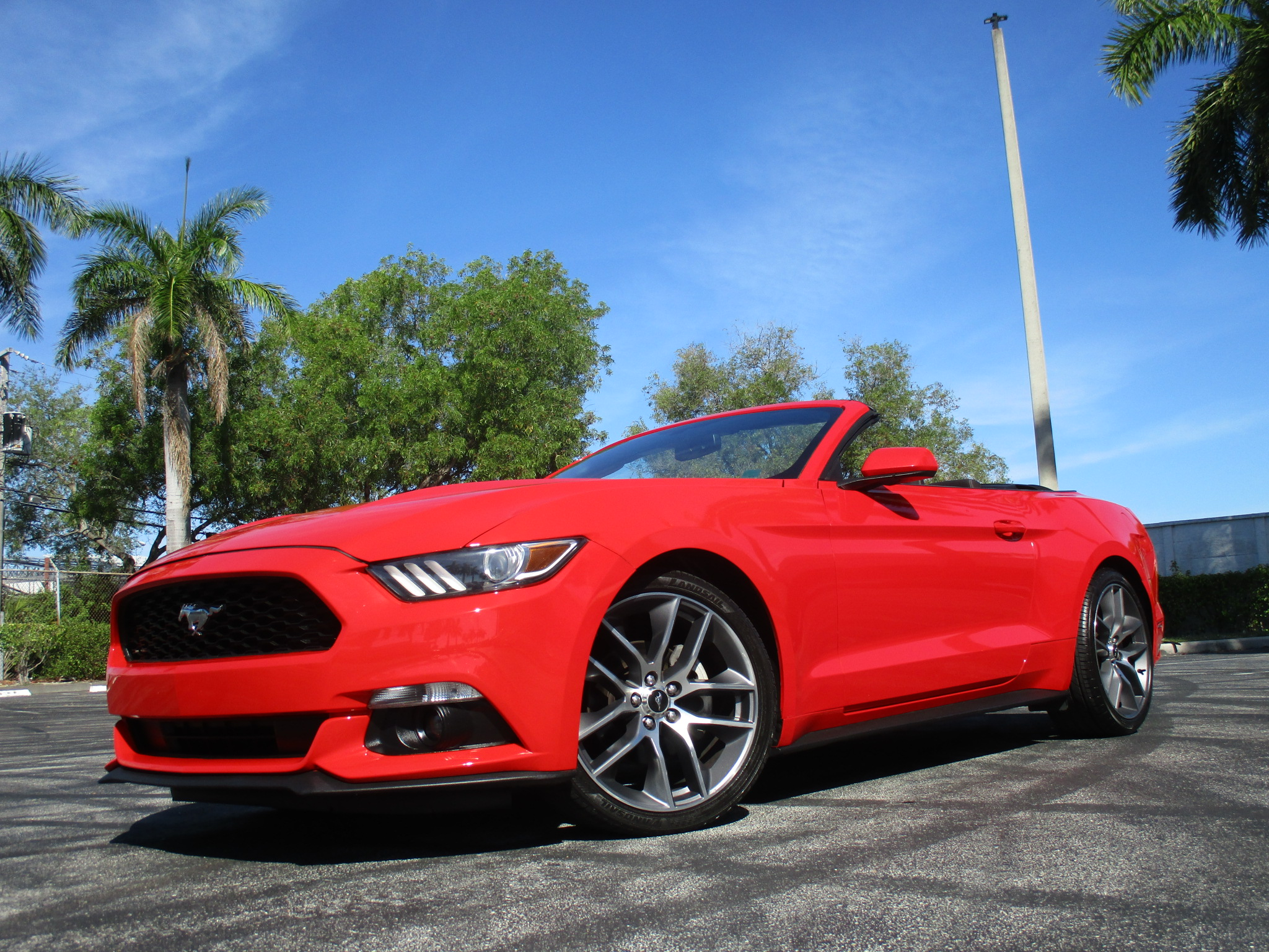 2015 FORD MUSTANG CONV.